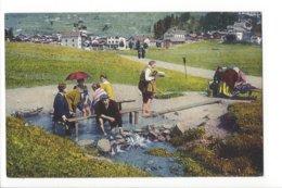 22459 - Loëche-les-Bains Le Bain De Pieds - VS Valais