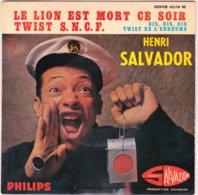 HENRI SALVADOR - Le Lion Est Mort Ce Soir -  EP - 45 G - Maxi-Single