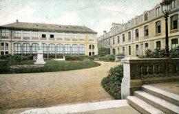 CPA -  PARIS - LYCEE JANSON DE SAILLY - COUR D'HONNEUR - Formación, Escuelas Y Universidades