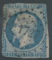 Lot N°51403  N°10, Oblit PC 1727 Lille, Nord (57) - 1852 Louis-Napoleon