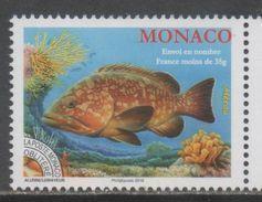 MONACO, 2017, MNH, FISH,   1v - Fishes