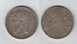 Belgique 5 Francs 1875 5F Léopold II - 09. 5 Francs