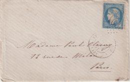 FRANCE : N° 44 . OBL GC . SIGNE CALVES . B . 1871 . - 1849-1876: Klassik