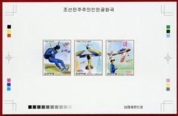 Korea 2016, Collective Deluxe Proof, Flying Model Plane, Parachutting - Fallschirmspringen