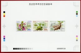 Korea 2016, Collective Deluxe Proof, Medicinal Plants - Medicinal Plants