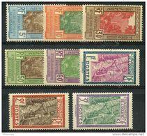 Oceanie (1929) Taxe N 10 à 17 * (charniere) - Oceania (1892-1958)