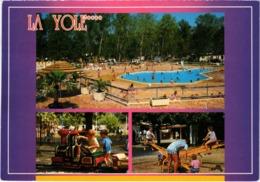 VALRAS PLAGE (34) LA YOLE - Camping - Carte Postée En 2000 - Francia