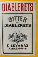 11776  - Diablerets Bitter Des Diablerets F.Leyvraz Aigle - Autres