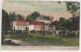 """WAELHEM - Pensionnat Des Demoiselles, Château Du """"Koorenhof"""" : Directeurs : M & Mme Butaye (plaine De Jeux) - Malines"""