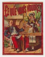 BB916 - Etiquette Ancienne LIQUEUR CE QUE VOUS VOUDREZ - Andere Flessen
