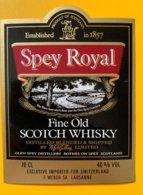 11777  - Spey Royal Ecosse - Whisky