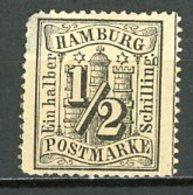 Allemagne Hambourg    Y&T   13   X    ---     Mi  10    - - Hamburg