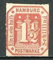 Allemagne Hambourg    Y&T   23   Obl    ---     Mi  21    - - Hamburg