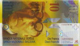 Suisse 10 Francs (P67e) 2013 (Pref: A) -UNC- - Zwitserland