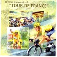Niger 2013  -  Tour De France - Volta A Franca  - Bradley Wiggins   -  1v MS  -  Neuf/Mint/MNH - Ciclismo