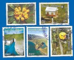 2007, 2013 Et 2015 5 Oblitérés Nelle Calédonie - Neukaledonien