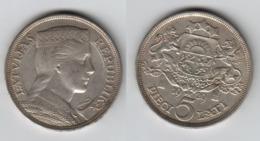 Lettonie 5 Lati 1929 Latvia  Letonia  Latvijas Republika1929 - Letonia