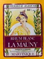 11781  - Rhum Blanc La Mauny Martinique - Rhum