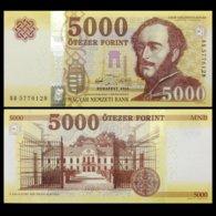 Hungary 5000 5,000 Forint, 2016(2017), P-NEW,banknotes, UNC - Hongarije