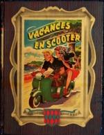 Guy Sabran  - Vacances En Scooter - Éditions G.P. / Collection Rouge Et Bleue  N° 18 - ( 1953 ) . - Livres, BD, Revues