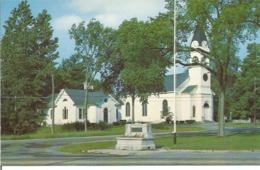 """CP Des Etats Unis """" ALFRED CONGREGATIONAL CHURCH ALFRED  MAINE - (Années """"70"""") - Etats-Unis"""