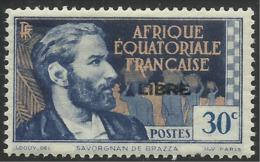 AFRIQUE EQUATORIALE FRANCAISE - AEF - A.E.F. - 1941 - YT 104** - Neufs