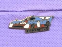 Rare Pins 24 Heures Du Mans 1975 Auto Mirage Gr8 Egf K236 - Automobile - F1