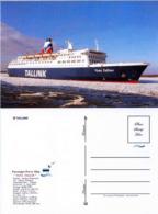 "Ship Postcards - Passenger   Ship : "" Vana Tallin   "" Variant Read Description - Ships"