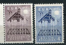 Belgique ** N° 1025/1026 - Europa 1957 - 1957