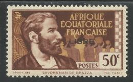 AFRIQUE EQUATORIALE FRANCAISE - AEF - A.E.F. - 1941 - YT 107** - A.E.F. (1936-1958)