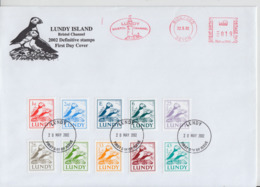 HC58. Great Britain Lundy Island Postmarked Cover Type SS. FREE UK P+P NEW LOWER PRICE LIMITED TIME! - Local Issues