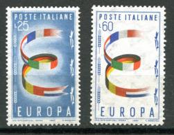 Italie ** N° 744/745 - Europa 1957 - 1957