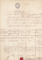 QUITTUNG, FACTURA  --  KLAGENFURT  -    1854 - Autriche