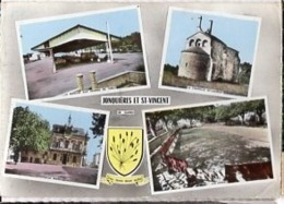 30 Gard JONQUIERES St VINCENT Quatre Vues Multiples Cp N° 3 C - Frankreich
