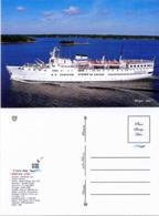 "Ship Postcards - Passenger   Ship : "" Birger Jarl   "" Variant Read Description - Ships"