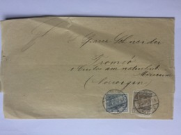 GERMANY Wrapper Possneck To Tromso Norway - Lettres & Documents