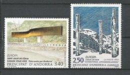 ANDORRE ANDORRA ANNEE 1993 N°430 431 LOT DE 2TP NEUFS** NMH - Andorra Francesa
