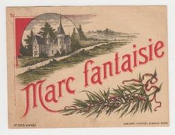 BB927 - Etiquette Ancienne MARC FANTAISIE - Haberer Plouviez Et Douin Paris - Andere Verzamelingen