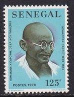 Senegal 1978, Mahatma Gandhi, Minr 666, MNH - Senegal (1960-...)