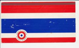 Emballage (aplati) Boite D'allumettes Publicité Assemblée Nationale Cocarde Républicaine (Lastar Régicar) CP-GF - Boites D'allumettes - Etiquettes