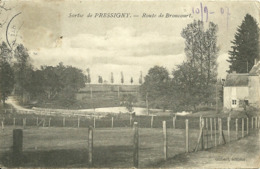 Sortie De PRESSIGNY (52) - Route De Broncourt - Autres Communes