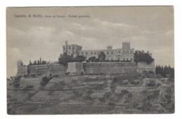 1027 - CASTELLO DI BROLIO SIENA VEDUTA GENERALE 1920 CIRCA - Siena