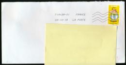 """2019 : Timbre Postal Adhésif """"BD, Obélix, Tous Timbrés ! Astérix"""" Seul Sur Lettre - Storia Postale"""