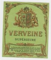 BB930 - Etiquette Ancienne VERVEINE Supérieure - Jouneau Paris - Otras Colecciones