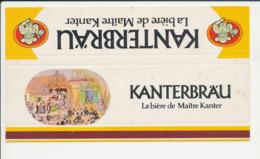 Emballage (aplati) Boite D'allumettes Publicité Bière Kanterbrau (Imprimeur Horizons) CP-GF - Boites D'allumettes - Etiquettes