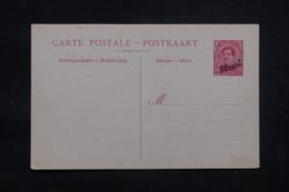 BELGIQUE - Entier Postal Paquebot Surchargé, Non Circulé - L 43205 - Stamped Stationery