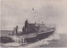 """Bw- Rare Carte Station HSB De La Trinité Sur Mer (Section D'Auray)- """"Roger DILLON"""" Vedette De Prévention Et De Sauvetage - La Trinite Sur Mer"""