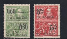 Belgique TAXES FISCALES - 0,60 Vert Et 5 Fr Rouge - Oblitération De 1929 - Très Beaux (fiscale Taxen) - Stamps