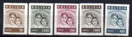 Serie  Nº 381/5   Bolivia - Bolivia