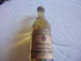 Mignonnette Cognac Richard Fermée Par Opecule-ancienne-saint-jean D'angely - Mignonnettes